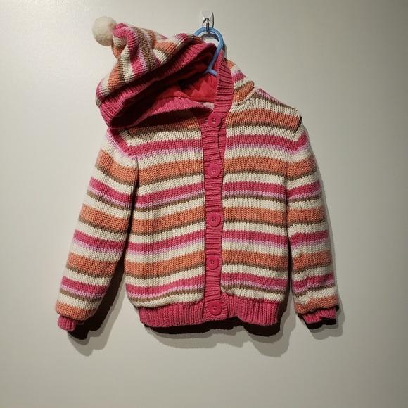 32c4fcd32b463 Wonderkids Jackets & Coats | Girls Crochet Hoodie Size 3t | Poshmark